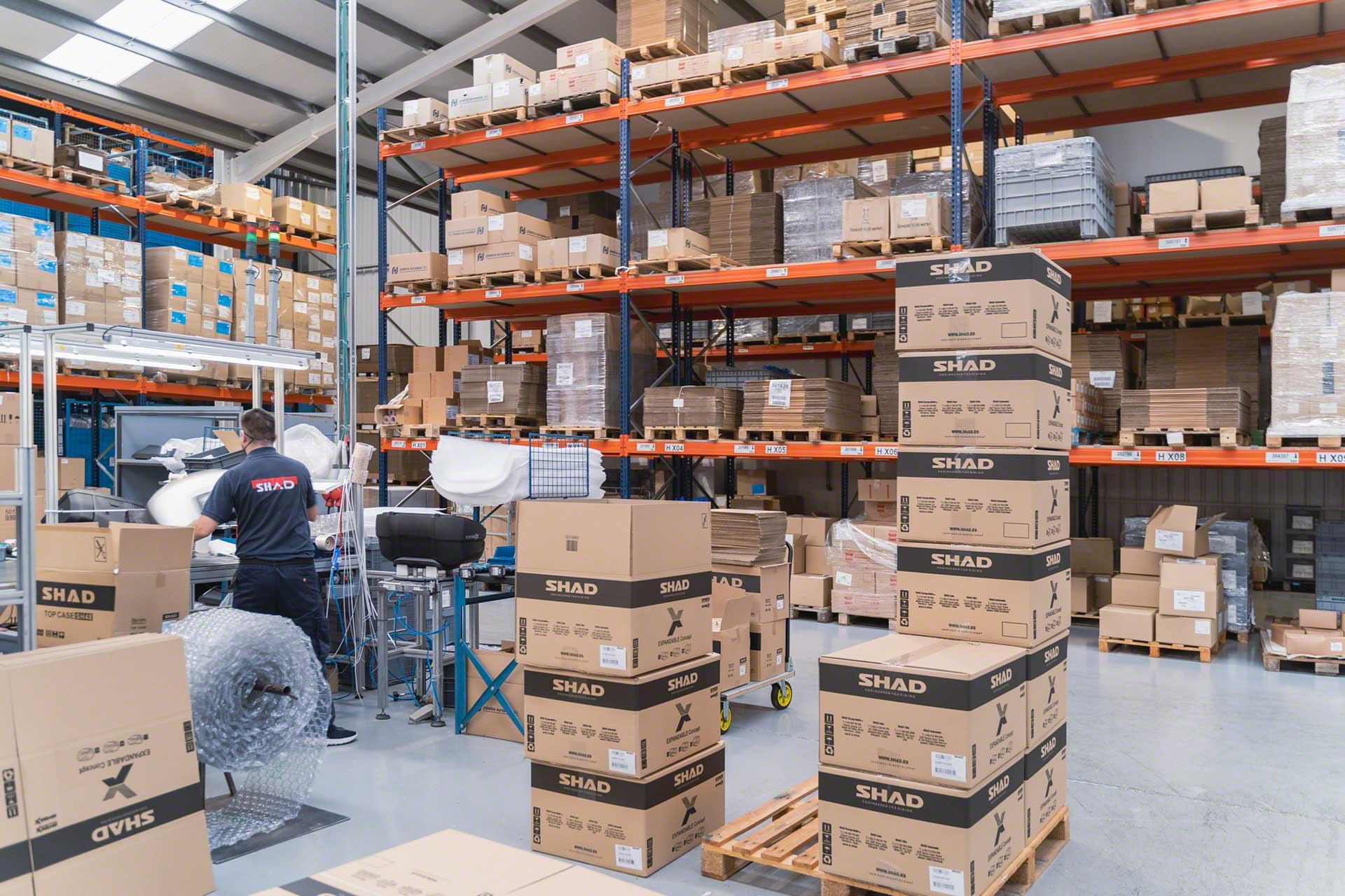 La preparación de pedidos flexible permite expedir desde cualquier depósito
