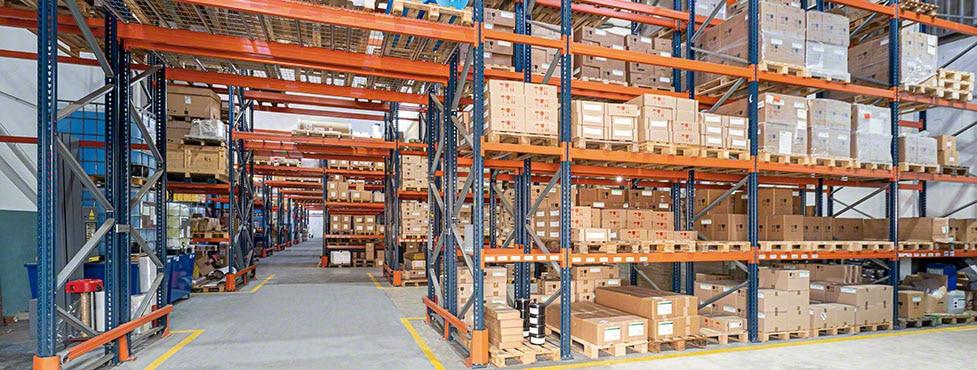 Gestión inteligente del depósito de Heidelberg de componentes y equipos de impresión