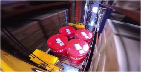 Mecalux ha construido un depósito automático autoportante con más de 4.500 m² para Cepsa