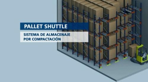 Pallet Shuttle: sistema de almacenamiento por compactación