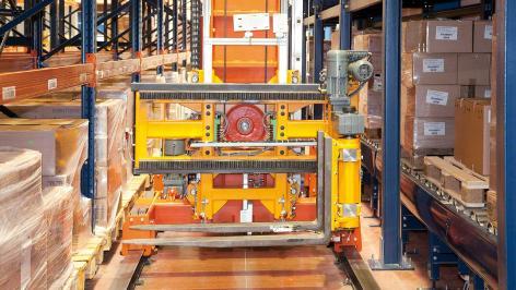 Mecalux mantiene en movimiento al operador logístico Disalfarm