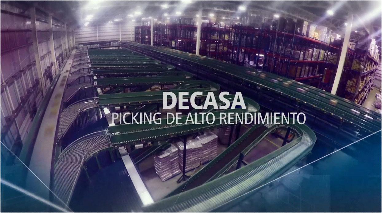 Caso práctico: nuevo centro logístico automatizado de DECASA