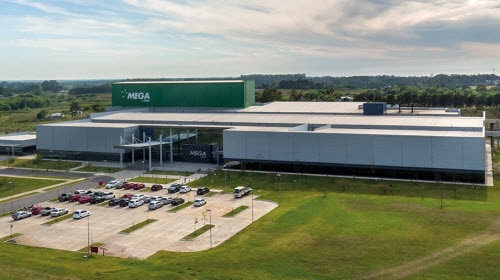 Depósito automático autoportante de Mega Pharma