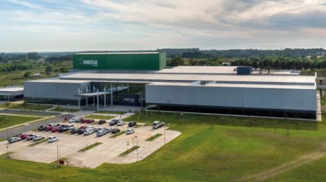 Mega Pharma se posiciona a la vanguardia tecnológica con un depósito autoportante completamente automático
