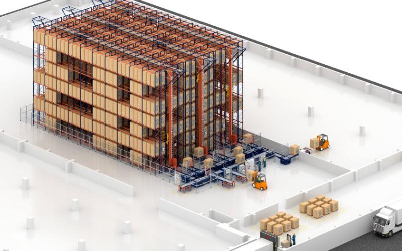 Capacidad de almacenaje y agilidad en el nuevo depósito de galletas de Desobry