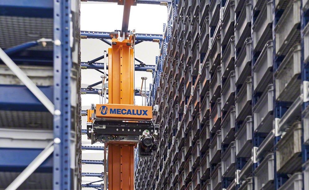 Paolo Astori amplía la capacidad de su depósito automático de cajas en Milán