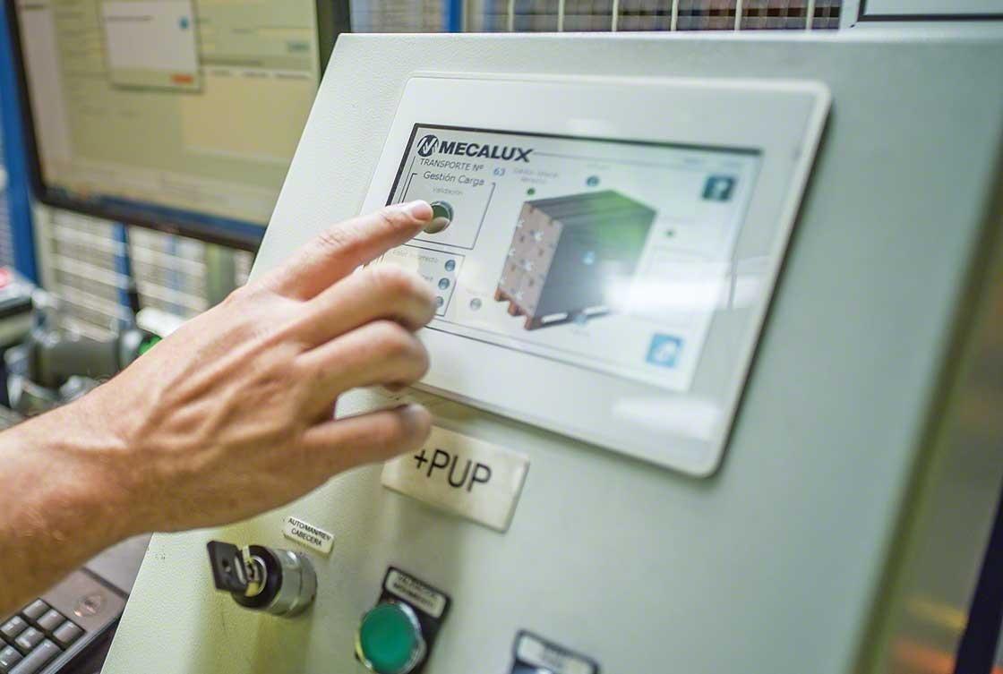 El sistema de gestión de depósito asiste en las tareas asociadas a la recepción de mercaderías