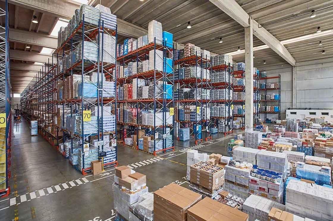 La enorme variedad de productos añade complejidad a la gestión de stock en el depósito