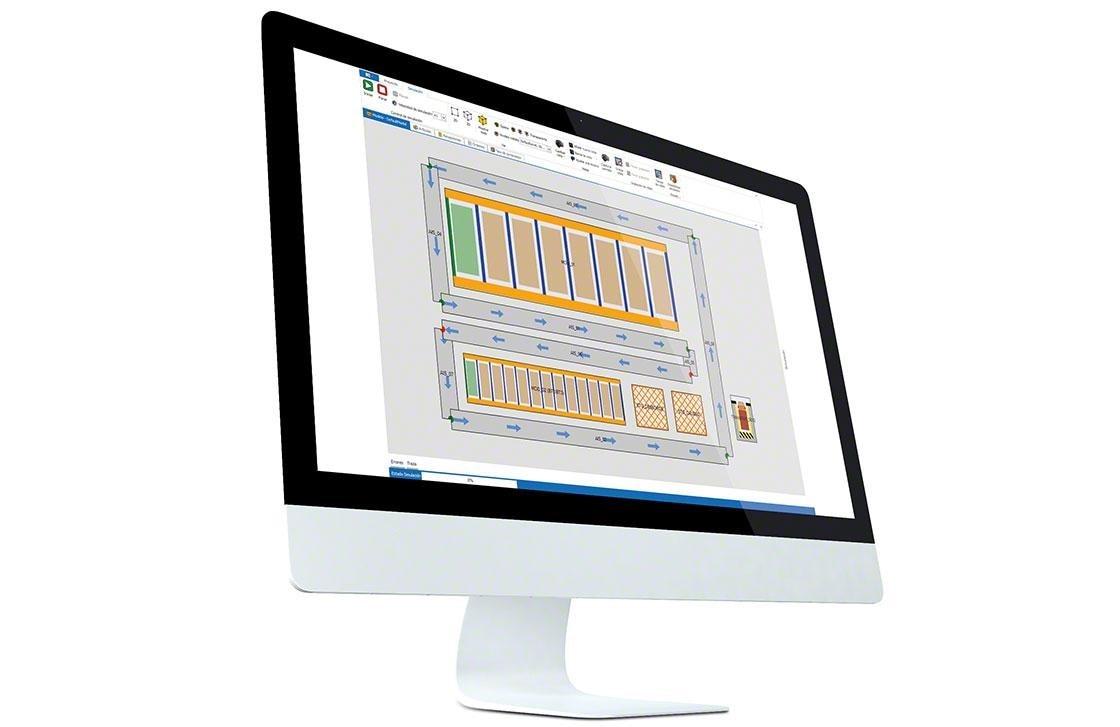 Ordenador en el que se ha instalado el WMS para una correcta gestión, y gracias al que se puede medir los KPI en el depósito
