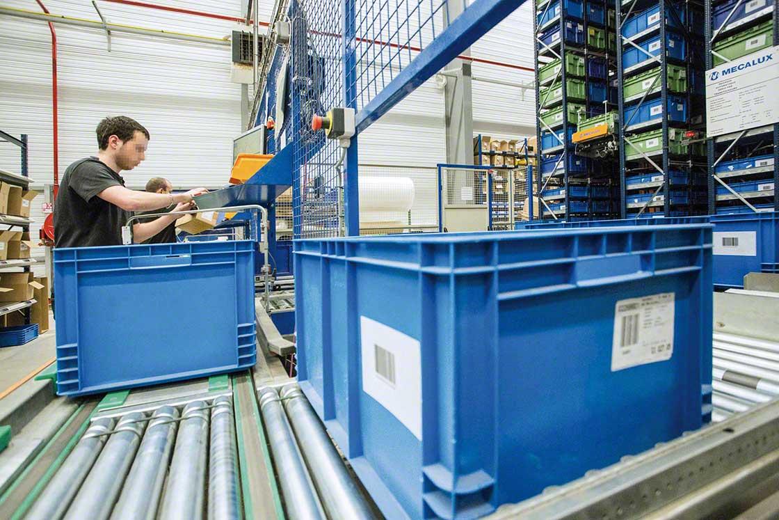 El WMS facilita el reetiquetaje de las devoluciones en e-commerce y les asigna nuevas ubicaciones