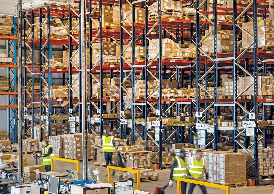 El stock de seguridad sobredimensionado puede ocupar un espacio muy valioso en el depósito