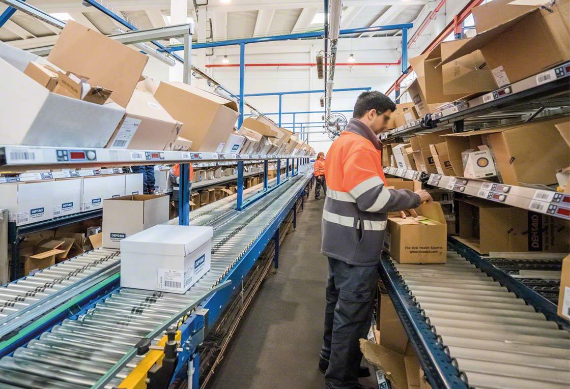 El 'pick-to-carton' consiste en preparar los pedidos directamente en las cajas de cartón que se entregarán a los clientes